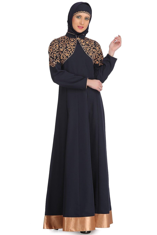 Mybatua marineblau kashibo Partei tragen Muslim Frauen Abaya Burqa ...