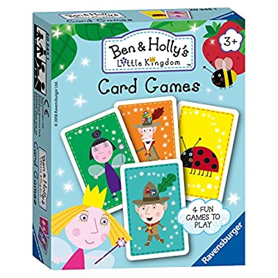 Ravensburger Juego de Cartas Ben & Holly: Juguetes y juegos