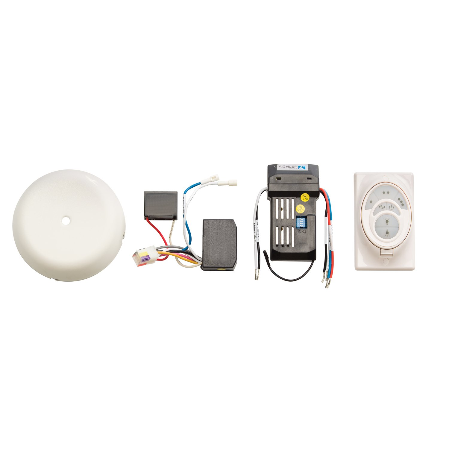 Kichler 3W500WH White Kichler Fan Company 3W500 CoolTouch Reversible Conversion Control System