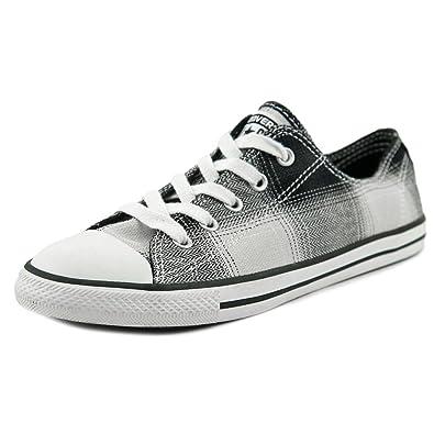 3016fff3e47c Converse Womens All Star Dainty Plaid Shoe - 6 UK