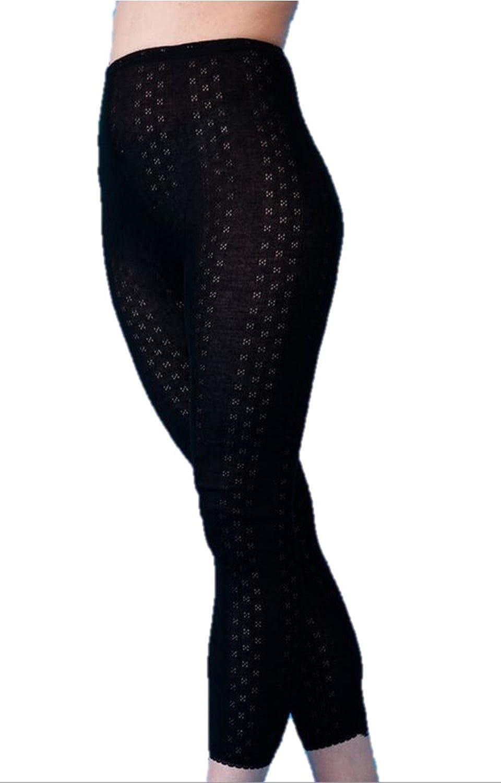 Bottoms Leggings Black or White Long Janes Snowdrop Ladies Soft Thermal Underwear X Large, White