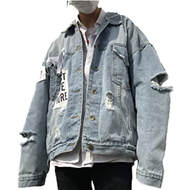 Amazon.com: Elegante chaqueta vaquera para hombre, de ...