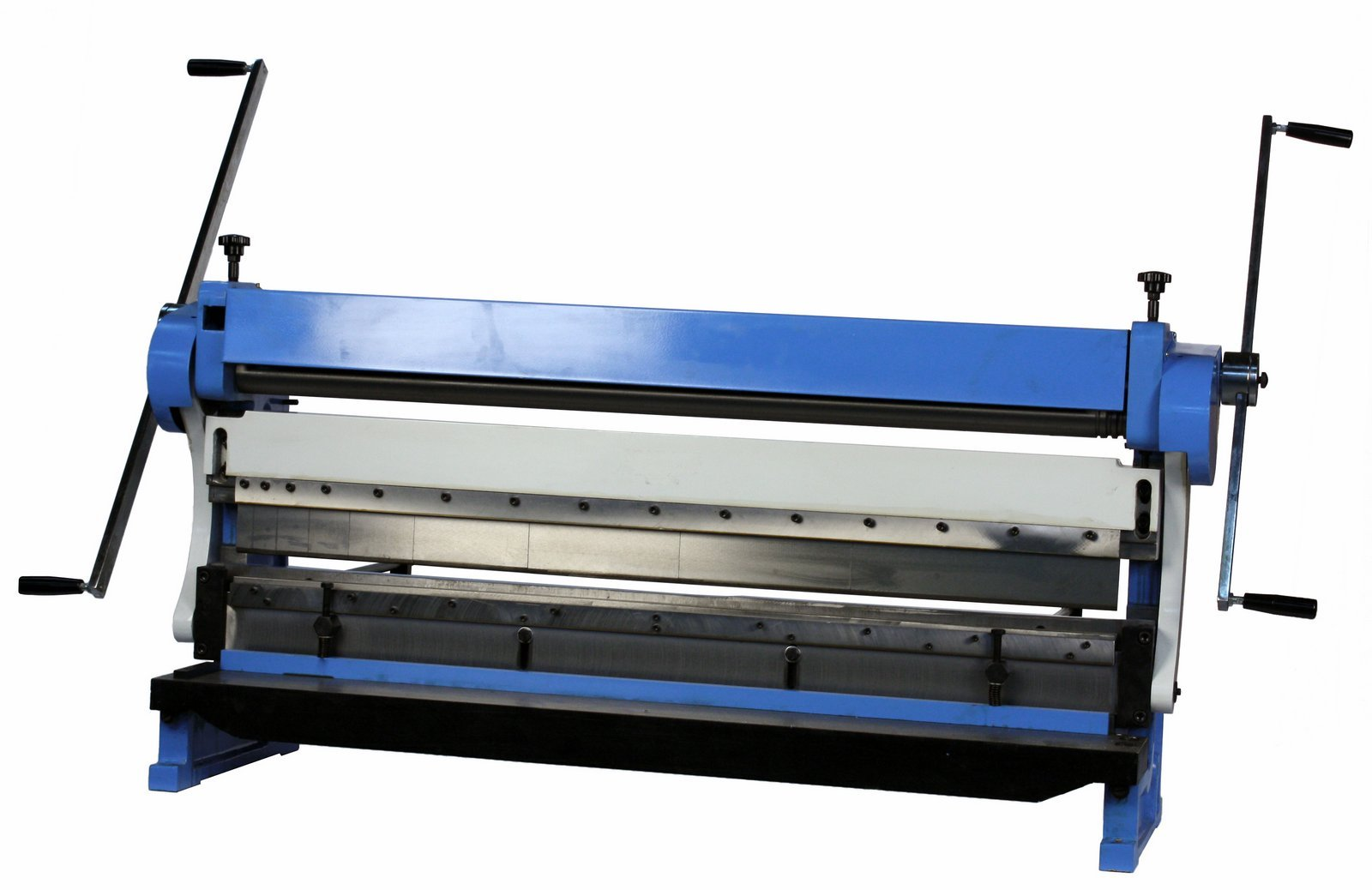 Erie Tools 52'' 3 in 1 Sheet Metal Machine Shear, Brake, and Roll Combination Machine with 16 Gauge Capacity