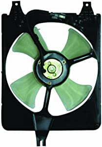 DEPO 317-55020-200 Replacement A/C Condenser Fan Assembly (This product is an aftermarket product. It is not created or sold by the OE car company)