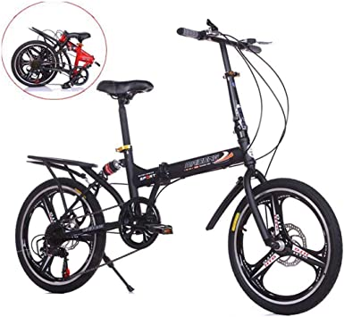 MYMGG Bicicleta Plegable. Sistema De Transmisión De 7 ...