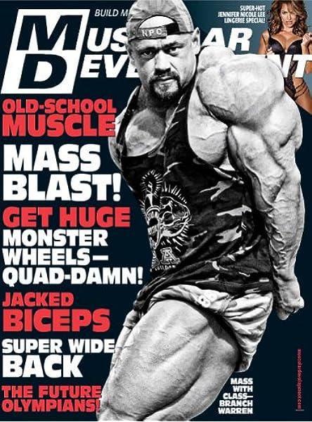 Muscular Development Amazon Com Magazines