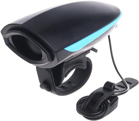Forgun - Bocina electrónica para bicicleta (110 dB, funciona con ...