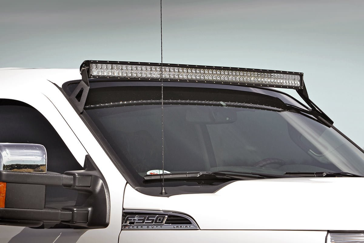Amazon rough country 70516 54 inch curved led light bar amazon rough country 70516 54 inch curved led light bar upper windshield mounting brackets ford super duty for ford 00 05 excursion 4wd2wd aloadofball Images