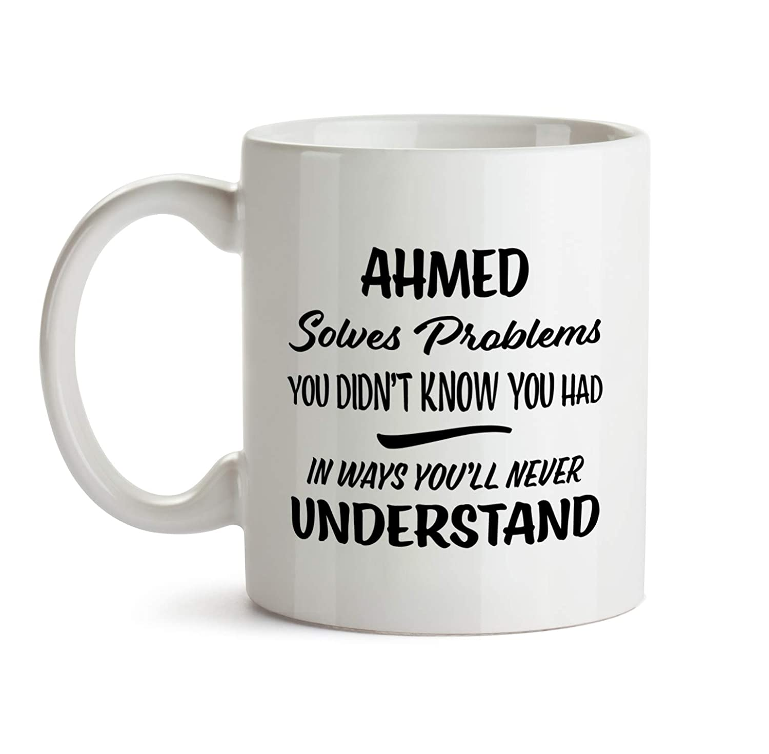 Amazon Ahmed Name Gift Birthday Fun Coworker Boss Colleague Christmas Present