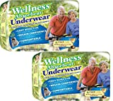 (Set/2) Wellness Super Absorbent Underwear Manage Incontinence - XL,24 Count