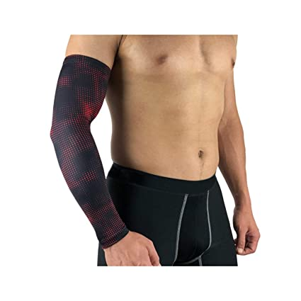 Cycling Bike Bicycle UV Sun Protection Arm Warmers Cuff Sleeve Cover Sport Black