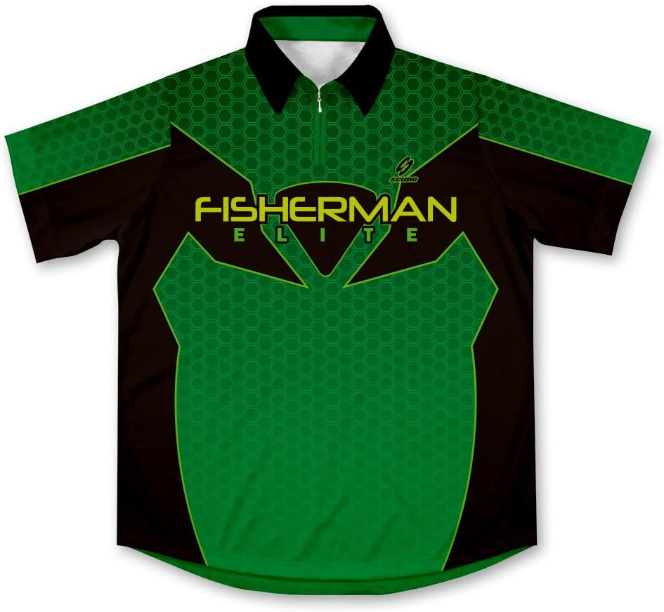 ScudoPro Fisherman Elite Camisa de Pesca Deportiva -: Amazon.es: Deportes y aire libre
