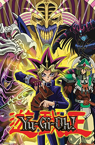 Trends International Yu-Gi-Oh-Collage Mount Bundle Wall Poster 22.375