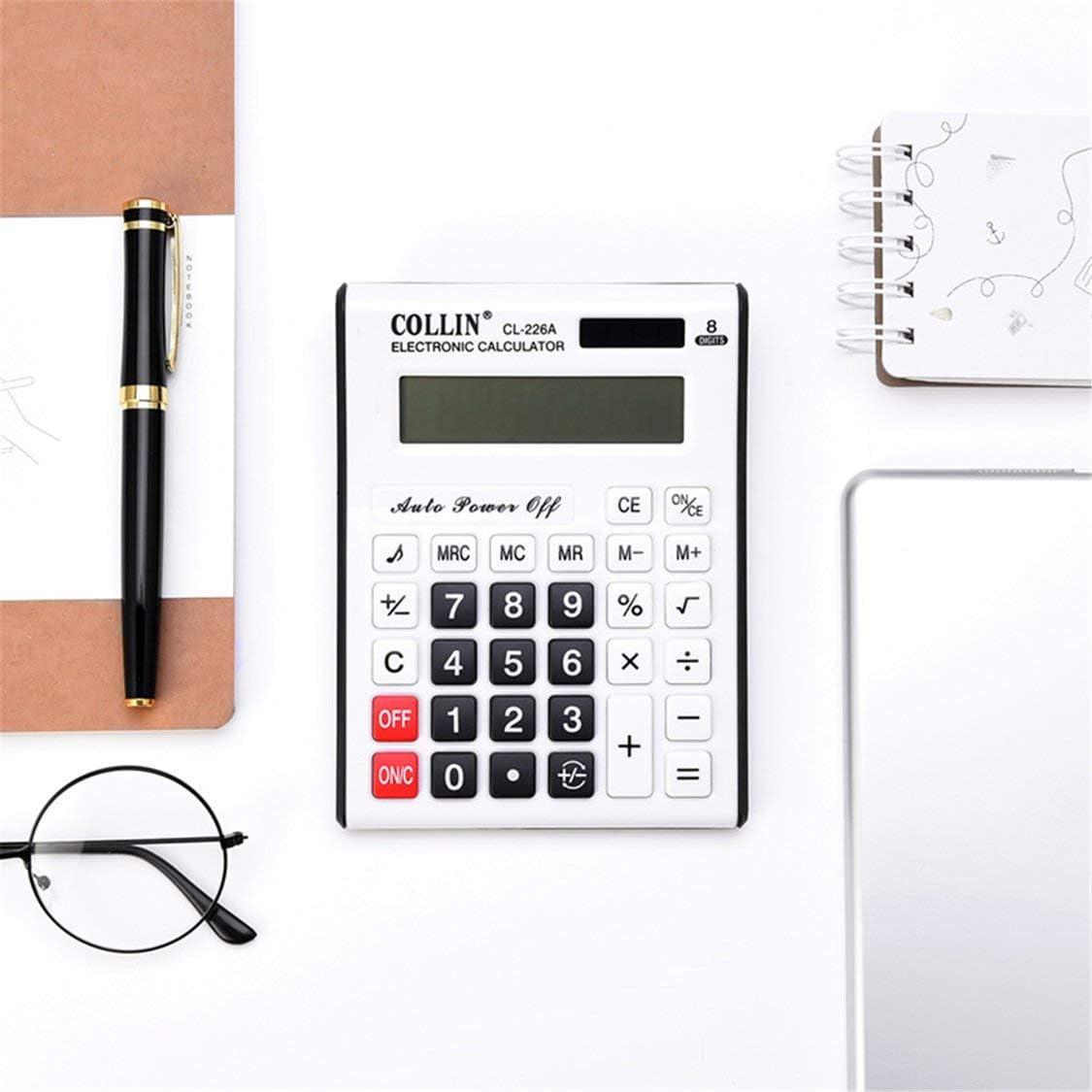 Al/éatoire CL226A Calculatrice scientifique avec calculateur de poche Calculatrice de bureau /à double affichage grand format pour bureau