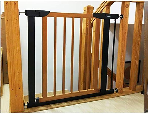 Huo Extensible Puerta for Mascotas Barrera de Seguridad del Bebé Puerta de La Escalera (Size : 103-110cm): Amazon.es: Hogar