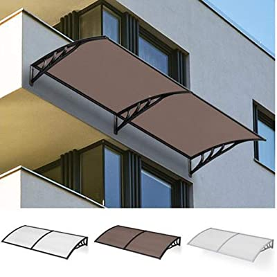 WAKTN-Baby fence Porch Shelter, Roof Shelter Door Canopy Furniture Protect Eaves Cover Overhead Canopies - 3 Colors (Size : 60cmx100cm) : Garden & Outdoor