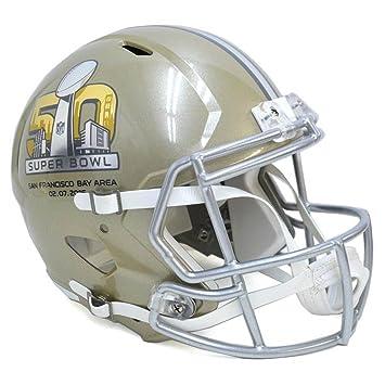 eef5e318b7f Riddell NFL SB 50 Speed Replica Mini Helmet  Amazon.co.uk  Sports   Outdoors