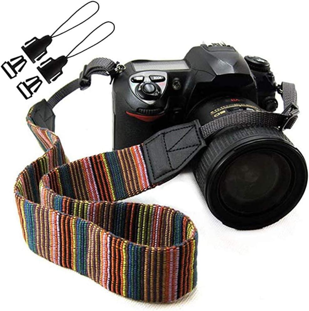 Camera Neck Strap Nikon DSLR and SLR| Canon Minimalist Travel Accessories Vintage Magnus Camera Strap Gifts for Men /& Women