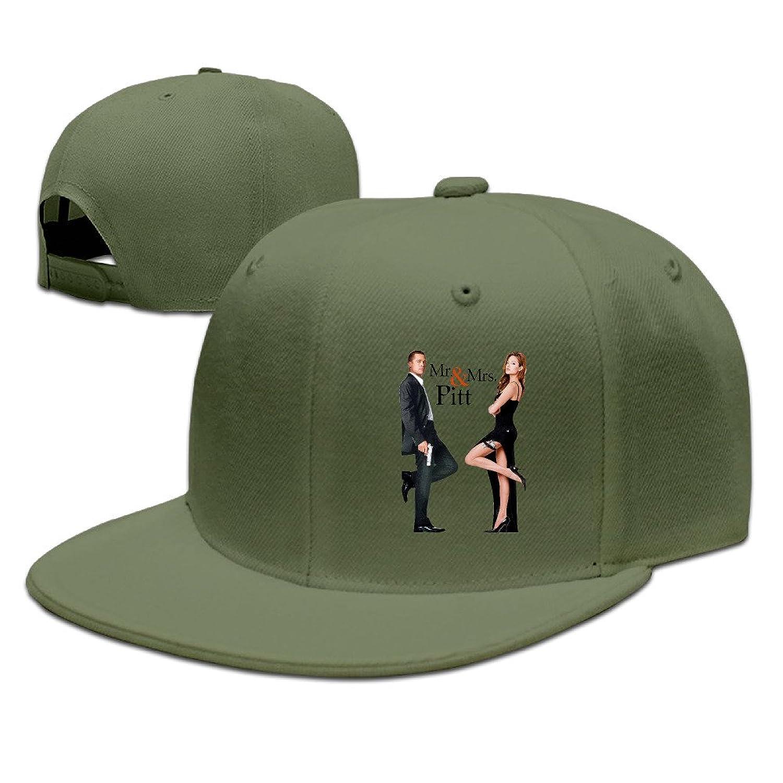 Man Sports Hat Brad Pitt And Angelina Jolie Trucker Hats