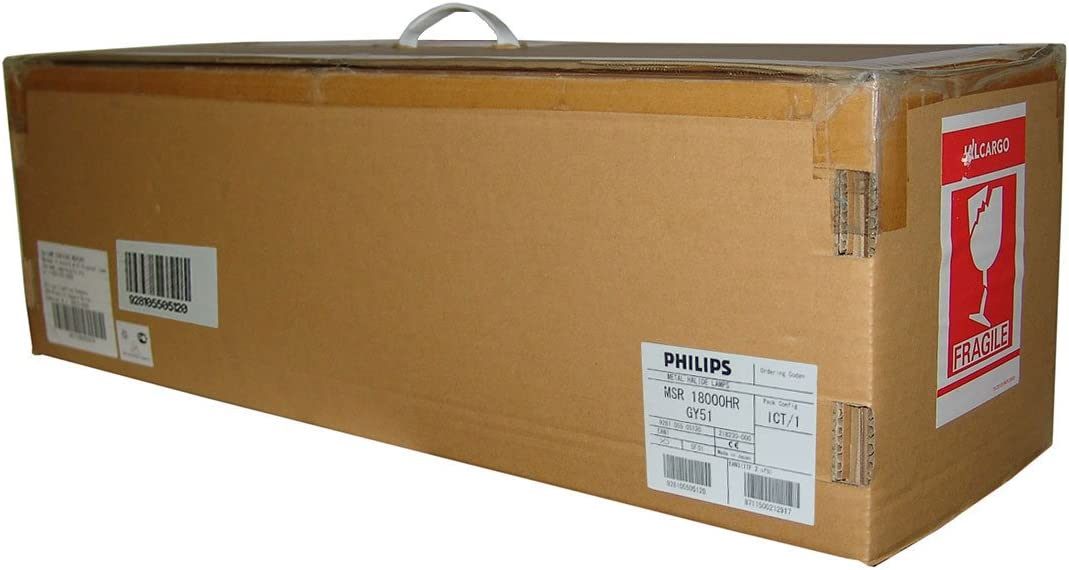 Philips MSR 18000 HR 18000 W AC lámpara para película/iluminación de estudio: Amazon.es: Bricolaje y herramientas