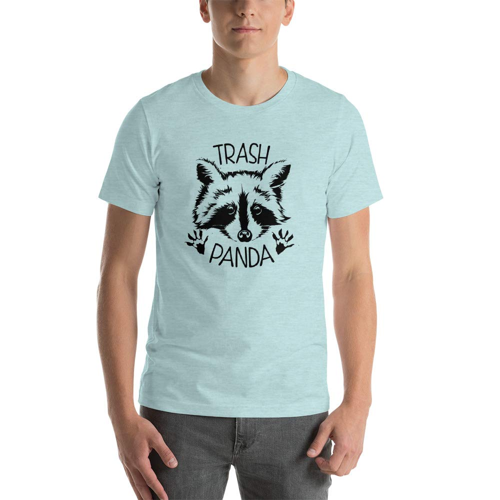 Alpha5StarDeals Trash Panda Raccoon Short-Sleeve Unisex T-Shirt