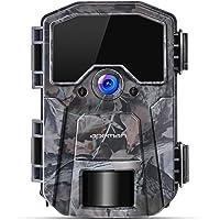 Apeman Wildkamera 16MP 1080P Infrarot-Nachtsicht Jagdkamera mit 40 IR LEDs, Zeitraffer, Zeitschaltuhr, IP66 Wasserdicht
