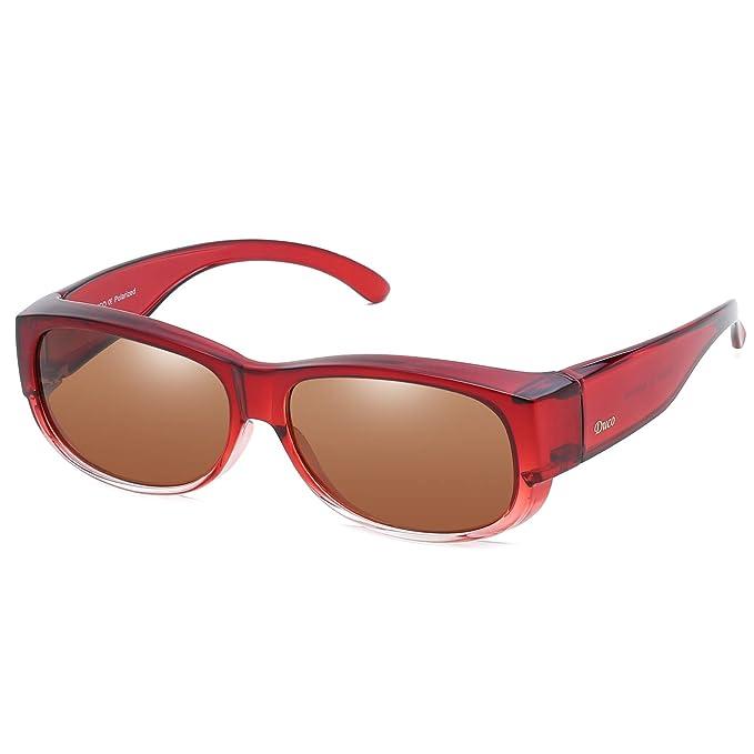 DUCO 8956 Gafas de Sol Polarizadas para usar con Anteojos ...
