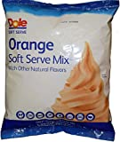 Orange Dole Whip Soft Serve Ice Cream Mix (Large 4.4 Pound Bag) - Authentic Dolewhip Same As Found in Disneyland and Hawaii but in Orange