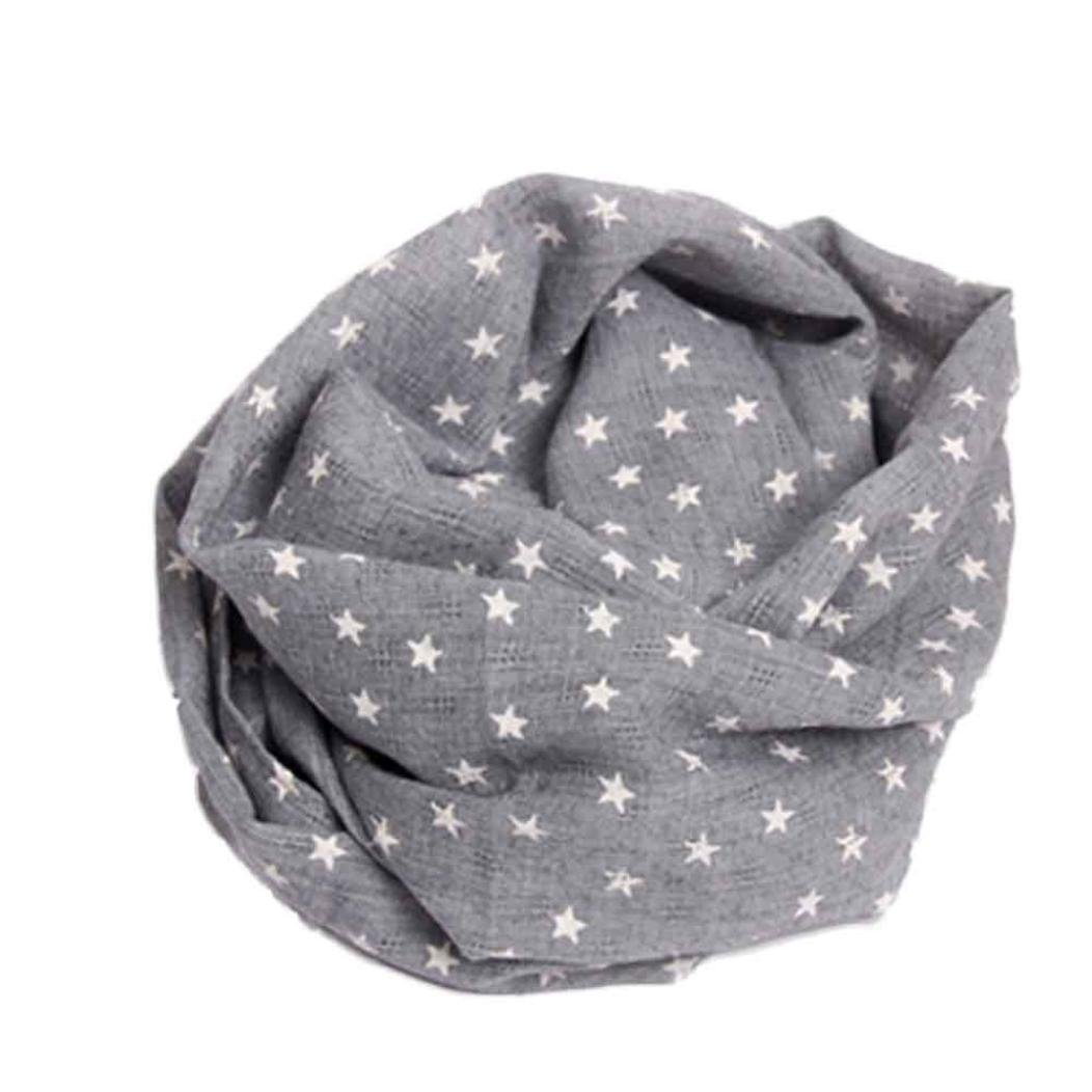 For2-10 years, Clode® 1PC Autumn Winter Boys Girls Collar Baby Scarf Cotton O Ring Neck Scarves (style 7) Clode-Baby Neck Scarves-T02