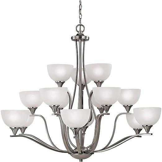 Amazon.com: Chandeliers - Lámpara de techo (15 unidades ...