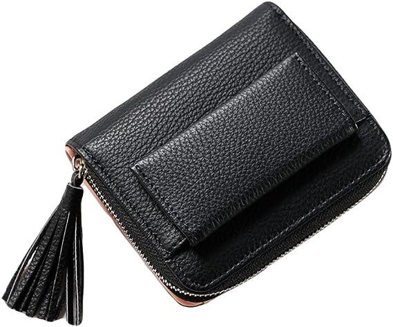 Damen kleine bunte Portemonnaie Geldbörse Kartenhalter Mädchen Münze