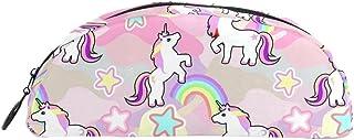 Trousse, Unicorn Rainbow Motif étoiles Imprimé durable Mode Stylo Sac pour filles garçons femmes Hommes