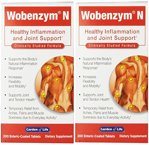 Garden Life Wobenzym Tablets Pack