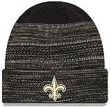 """New Orleans Saints New Era 2017 NFL Sideline """"Cold Weather TD"""" Knit Hat - Black"""