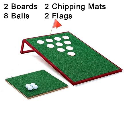 SPRAWL Golf Chipping Game Cornhole Tailgate Backyard Beach Office Games Golf Portable