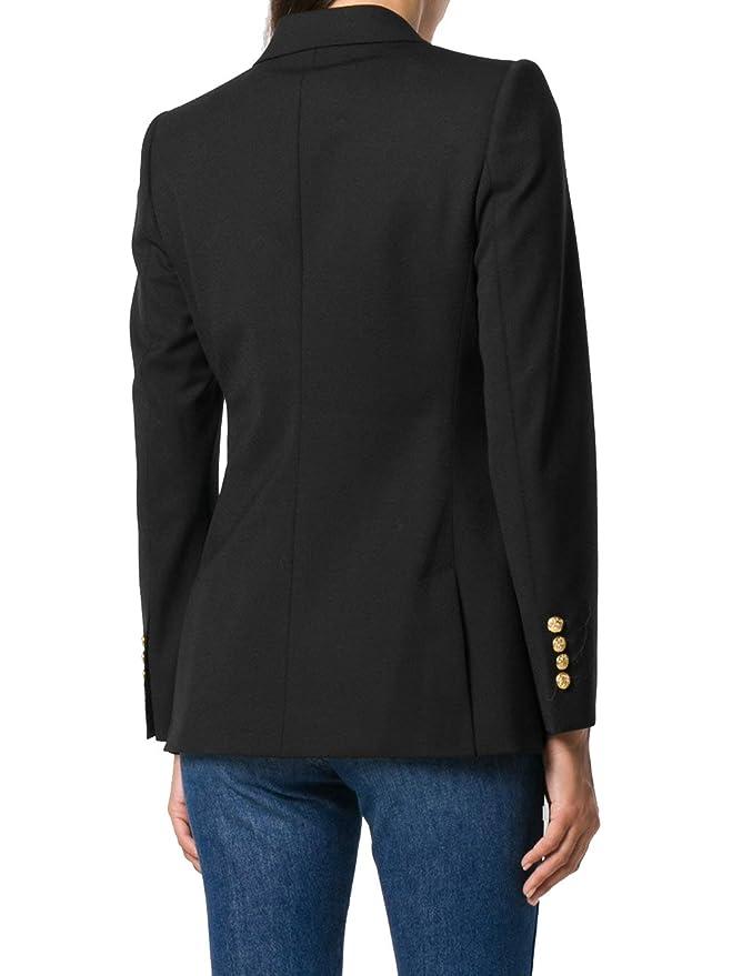 Dolce & Gabbana - Chaqueta de Traje - para Mujer Negro Negro (40: Amazon.es: Ropa y accesorios