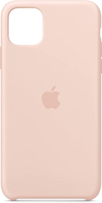 Apple Silicone Case (for iPhone 11 Pro Max) - Pink Sand