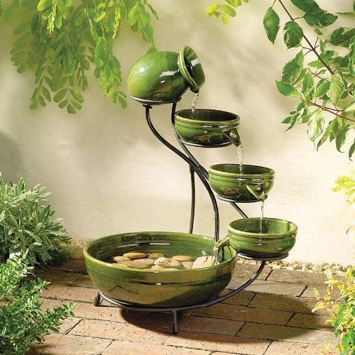 Solar Cascade Ceramic (Ceramic Cascade Fountain)