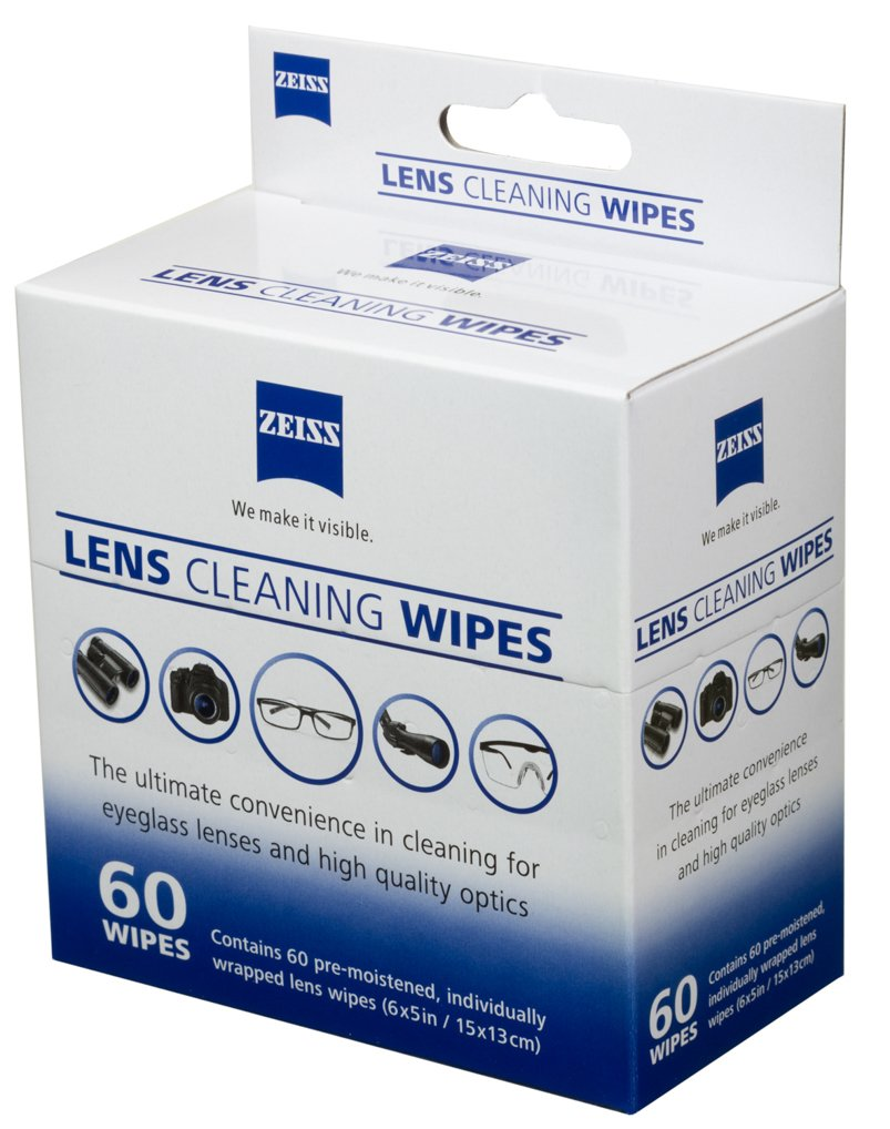 Amazon.com: Petra Zeiss Pre-Moistened Lens Cloth Wipes, 60 Per Box: Health & Personal Care