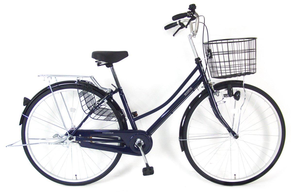 C.Dream(シードリーム) テクノタウン TW71 27インチ自転車 シティサイクル ネイビー 100%組立済み発送   B078TWJV9N