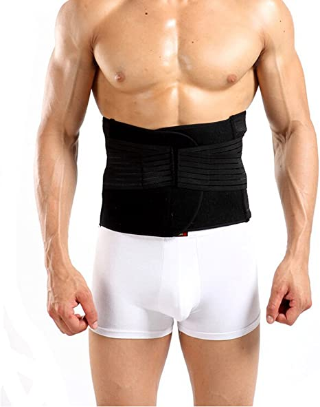 Amazon.com: Flyusa Men's Waist Trimmer Belt,Breathable Tummy ...
