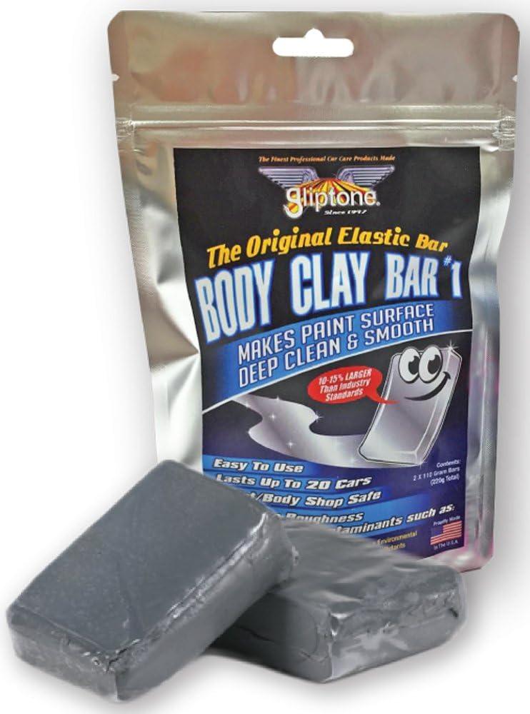 Gliptone Body Clay Bars Two Pack