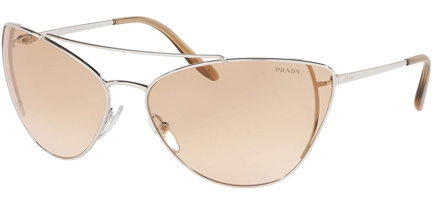 Amazon.com: Prada PRADA ULTRAVOX EVOLUTION PR 65VS SILVER ...