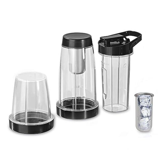 Gourmet Maxx 00620 – Juego de vasos (7 piezas) Incluye 600 ml de ...