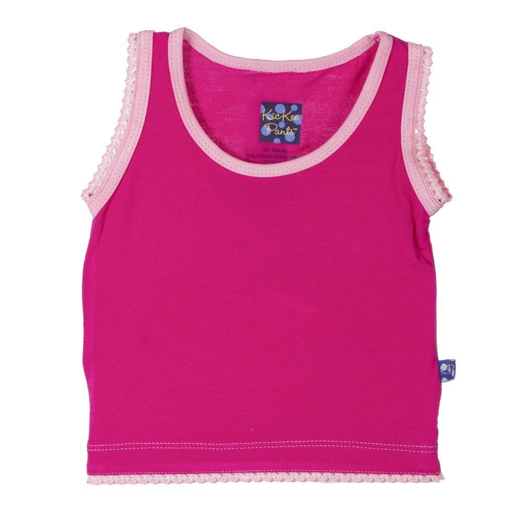 KicKee Pants Little Girls Solid Undershirt Tank PRD-KPTK487