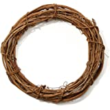 Bulk Buy: Darice DIY Crafts Grapevine Wreath Natural 12 inches (12-Pack) GPV12