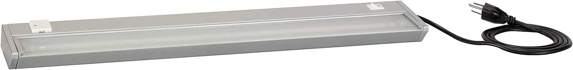 Bush Business Furniture Task Light with Pewter Finish