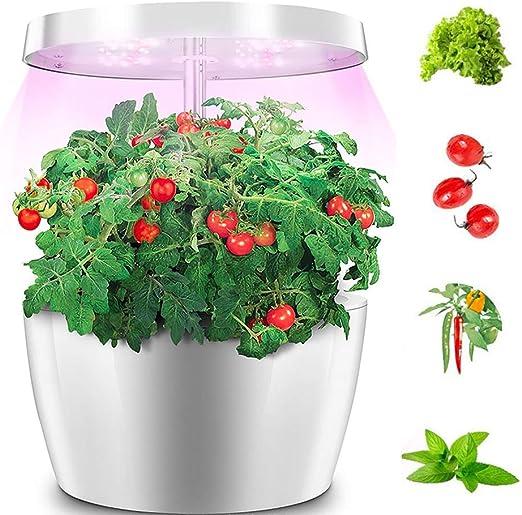 FDYD Inteligentes hidropónicos Jardín Luces, Sistema de Jardín Kit de Interior con 2 Semillas de Las PC Mini Herramienta para el jardín Mano Set- no está Incluido: Amazon.es: Hogar