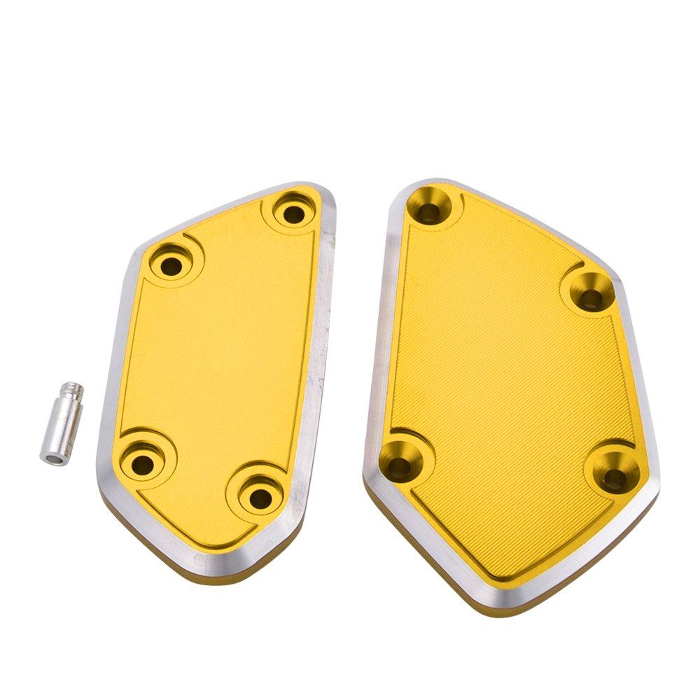 Bouchon de r/éservoir ma/ître-cylindre dembrayage de frein CNC moto en aluminium pour BMWR 1200GS LC
