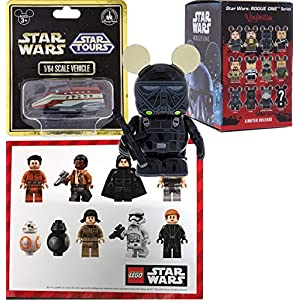 AYB Products Star Wars Parks Exclusive Vinylmations Figure Mystery Blind Box Rogue One Story Authentic & Star Tours…